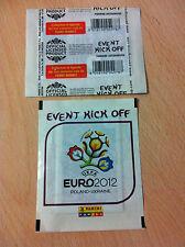 Bustina Nuova Sigillata PANINI UEFA EURO 2012 EVENT KICK OFF Poland Ukraine ITA
