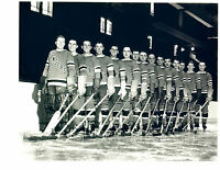 1934 1935 NEW YORK RANGERS 8X10 TEAM  PHOTO  HOCKEY NHL USA HOF