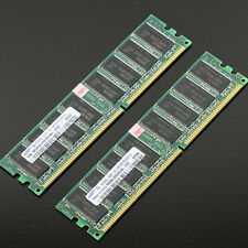 Samsung Chipset 2GB 2x 1GB PC2700 DDR 333 Mhz Low density memory 2Rx8 CL3 DIMM