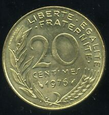 20 centimes 1976    marianne  SUP
