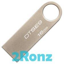Kingston DataTraveler DT SE9 16GB 16G USB Drive Disk Keyring Notebook Metal x5