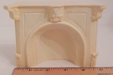 Fireplace Mantel Dollhouse Miniature Resin Marble Look 1:12 Scale