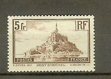 "FRANCE STAMP TIMBRE N° 260a "" MONT SAINT MICHEL 5F TYPE I "" NEUF xx TTB"