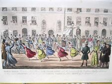 Vintage Print,BONCO REGIS,Cruikshank,Life in London,1822