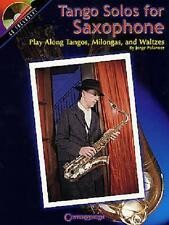 TANGO SOLOS FOR SAXOPHONE SHEET MUSIC SONG BOOK+ CD SET