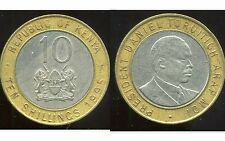 KENYA   10 shilling  1995  ( bis )