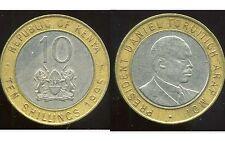 KENYA   10 shilling  1995