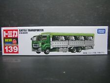 TAKARA TOMY TOMICA CATTLE TRANSPORTER TRUCK DIECAST # 139
