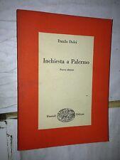--- DANILO DOLCI - INCHIESTA A PALERMO - NUOVA EDIZIONE - EINAUDI, 1957