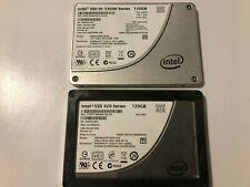 """Intel 120GB  2.5"""" 320 Series & 3500 series (SSD) - low hours"""