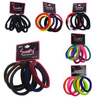 12 or 18PCS Big Size Women Elastic Hair Ties Rubber band Ropes Ring Scrunchies