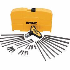 DeWalt DWHT70265 RATCHETING T-HANDLE SET - 31 PC