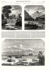 Fresh Water Fishes  -  Angling in Scotland  -  Fishing   -   1862