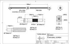 PM-25MV cnc conversion kit precision matthews , balls crews machined as drawings