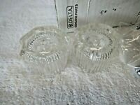 Delta Clear Knob Handle Set NEW IN BOX Fast Shipping!