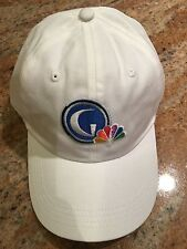 NEW Orig Golf Channel NBC Sports Peacock White Cap Hat One Size Adjustable AHead