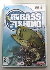 BIG CATCH BASS FISHING WII PAL