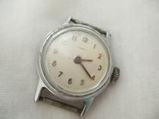 Timex Silver Toned Wind-Up Wristwatch