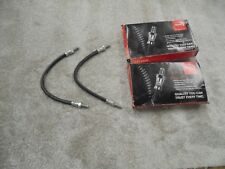 Ford Escort mk1 Front Flexy Brake Hoses...Brand New....Pair.