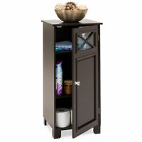 BCP 3-Tier Classic Wooden Floor Cabinet w/ Door