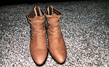 Give Away Sale- 1.State Womens Iliza  Almond Toe Ankle Fashion Boots - Size 7.5