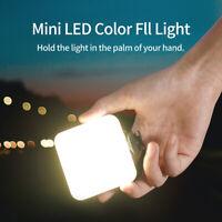 Mini RGB LED Video Light Portable Pocket Photographic Lighting Vlog Fill Lamp
