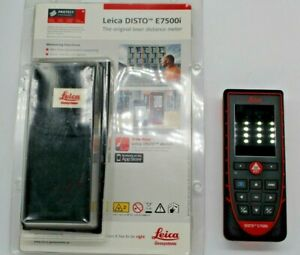 Leica Disto E7500i Laser Distance Measurer Meter