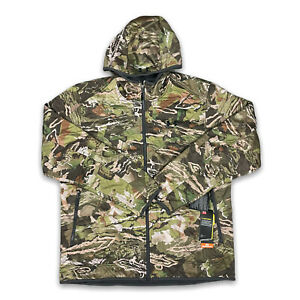 Under Armour Brow Tine Hunting Jacket Size XL Forest Camouflage 1316741-940