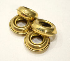 Beads Brass Grooved Metal Rings 30mm