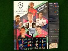Topps CHAMPIONS LEAGUE 2018/2019 STICKERS FULL/COMPLETE SET + EMPTY  ALBUM