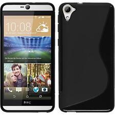 Silicone Case for HTC Desire 826 S-Style black Case