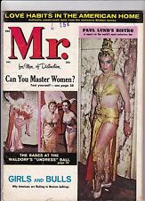 Mr. For Men Of Distinction Magazine December Dec 1960 See My Store