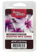 Better Homes and Gardens Wax Fragrance Cubes,Tropical Plumeria Petals FREE S/H