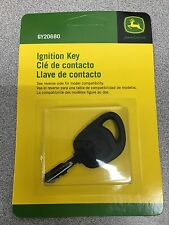 New OEM John Deere GY20680 Ignition Key L, LA, X300-X500 Srs, Sabre Etc