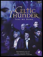 CELTIC THUNDER - TAKE ME HOME DVD ~ RECORDED LIVE AT THE CASINO RAMA EC *NEW*
