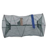 Redes de pesca de camarones en jaula, trampas de cebo, marco de aleacion de D4L7