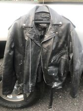 large biker jacket leather riding coat uniks 62 bt apparel