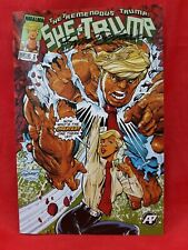 Tremendous Trump She-Trump #1- Signed Dragon's Lair variant Cover Ltd 100 copies