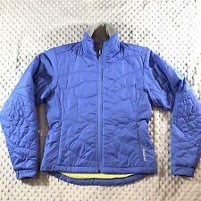 CLOUDVEIL Coat Women's sz S Warm Winter Quilted Puffer Jacket Periwinkle Zip