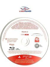 FEAR 3 PAL/EUR PS3 Promo Retro Playstation Videojuego Videogame Mint State
