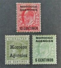nystamps Great Britain Offices Abroad Morocco Stamp # 3/35 Mint Og H $33