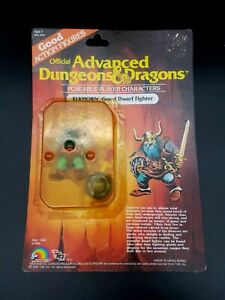 Advanced Dungeons & Dragons 1983 LJN ELKHORN Good Dwarf Fighter Complete Action