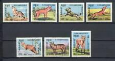 Cambodja - 1984 - Mi. 577-83 (Wilde dieren) - Postfris - E389