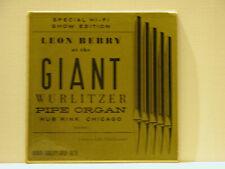 LEON BERRY: AT THE GIANT WURLITZER - LP VINYL - FREE SHIPPING!!
