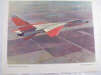 "Navy A3J Vigilante Vintage Lithograph 12"" x 15"" Poster"