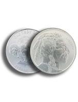 1 oz .999 Silver Buffalo AG Round BU - Buffalo Indian Stamped - IN STOCK!!