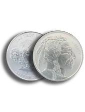 1 oz .999 Silver Buffalo Ag Round Bu - Buffalo Indian Stamped - In Stock!