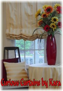 CUSTOM BALLOON SHADES IN YOUR FABRIC, UP TO 38W X 50L  ALL SIZES AVAIL