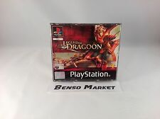 THE LEGEND OF DRAGOON - PS1 PS2 PS3 PSX PLAYSTATION 1 2 3 PAL ITALIANO COMPLETO