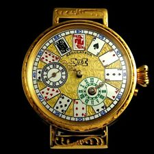 Vintage Mens Wrist Watch L.U.C. CHOPARD Regulateur CASINO Men's Wristwatch Swiss